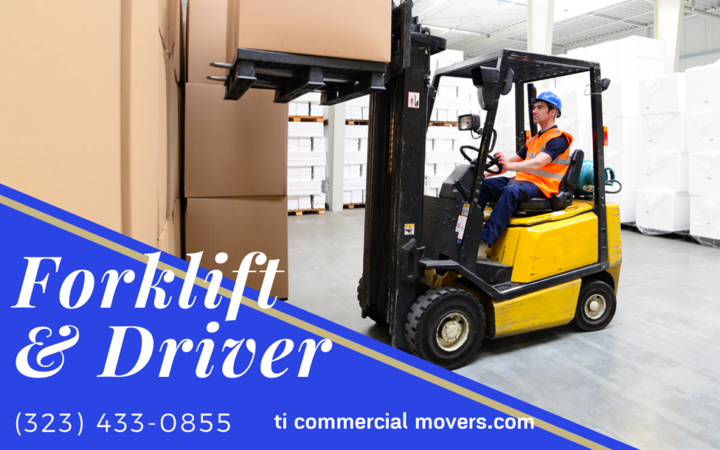 Forklift and a Driver