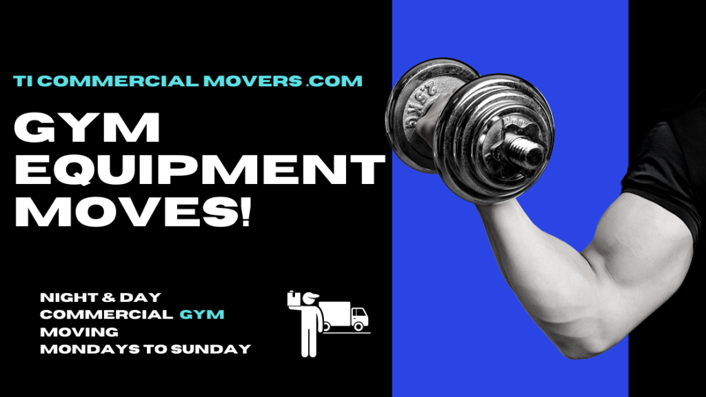 fitness gym equipment moving