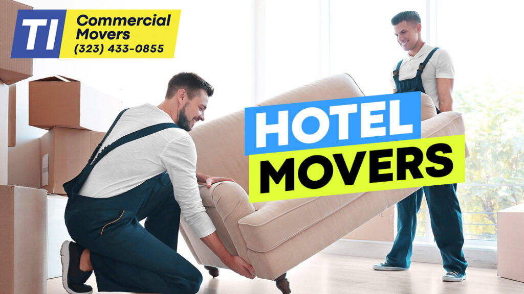 hotel movers to clean furniture